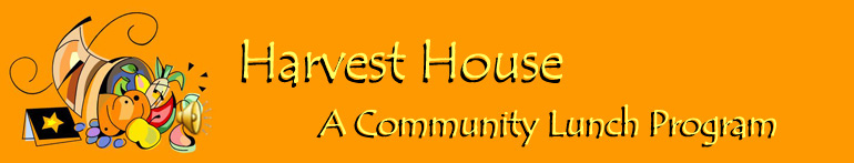 Harvest House Community Lunch Program in Sussex, NJ